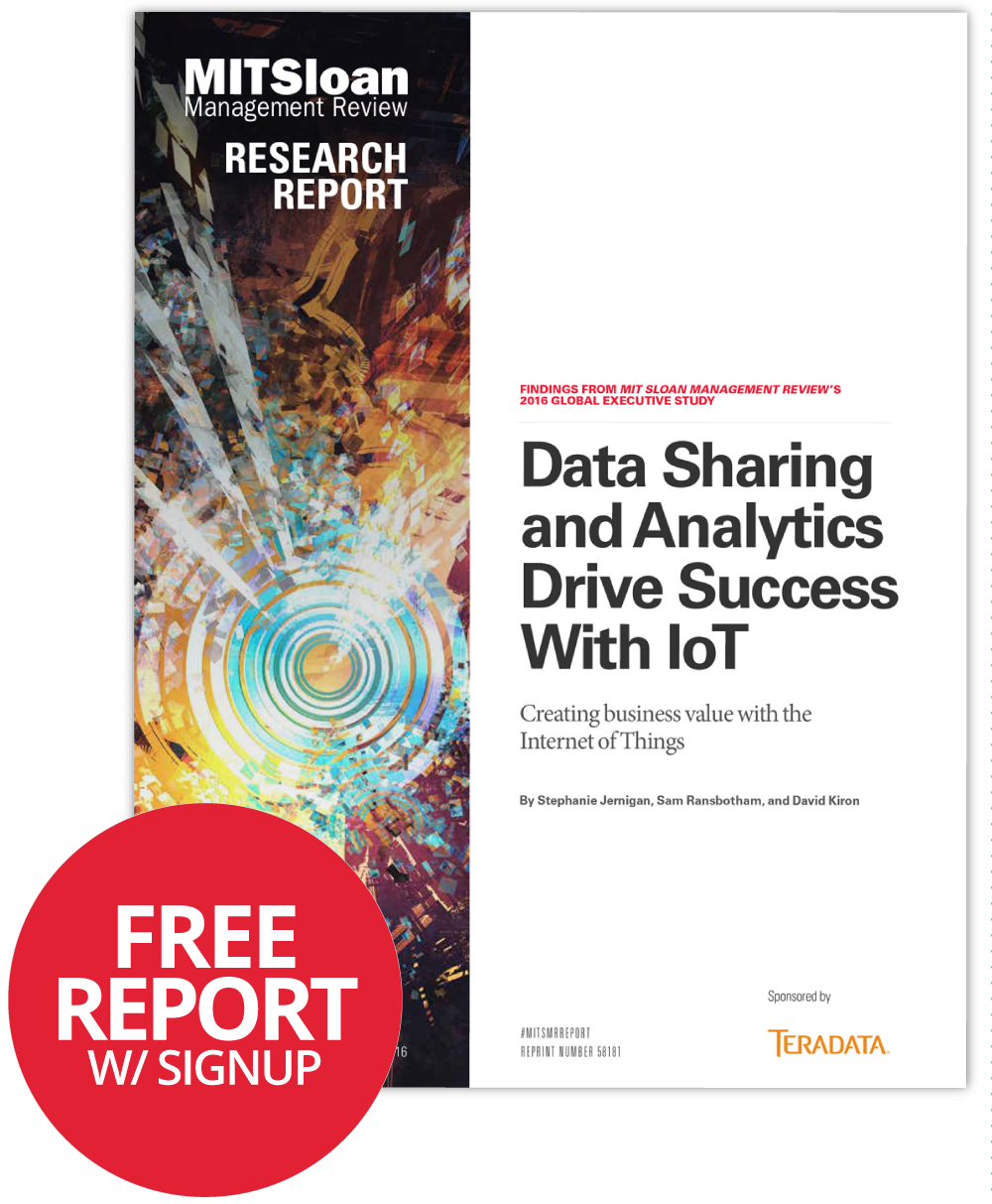 Data Sharing and Analytics Drive Success With IoT